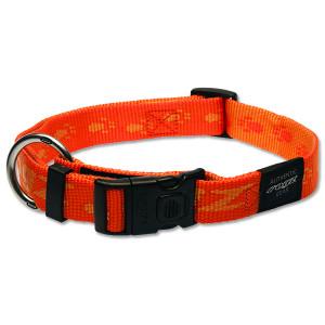 Obojek ROGZ Alpinist oranžový XL 1ks