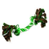 Uzel DOG FANTASY bavlněný zeleno-bílý 2 knoty 20 cm 1ks