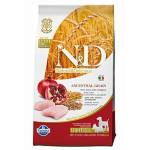 N&D Low Grain DOG Light S/M Chicken & Pomegr 800 g
