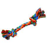 Uzel DOG FANTASY bavlněný barevný 2 knoty 20 cm 1ks