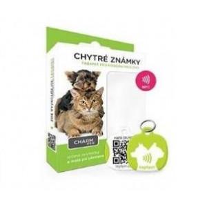 tag4pet Charm mini chytrá známka zelená 1ks