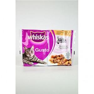 Whiskas kapsa Gusto L&C drůbeží 85 g