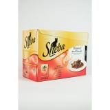 Sheba kapsa S&T masové menu 12 pack