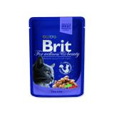 Kapsička BRIT Premium Cat Cod Fish 100g