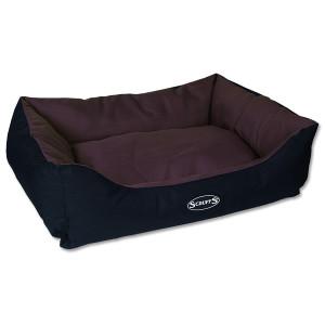 Pelíšek SCRUFFS Expedition Box Bed čokoládový L 1ks (DOPRAVA ZDARMA)