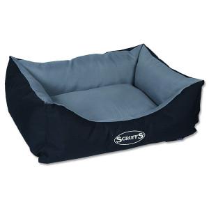 Pelíšek SCRUFFS Expedition Box Bed šedivý S 1ks (DOPRAVA ZDARMA)