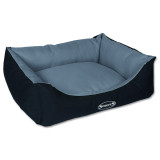 Pelíšek SCRUFFS Expedition Box Bed šedivý M 1ks