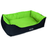 Pelíšek SCRUFFS Expedition Box Bed limetkový XL 1ks