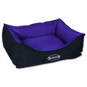 Pelíšek SCRUFFS Expedition Box Bed švestkový S 1ks (DOPRAVA ZDARMA)