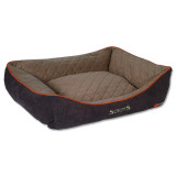 Pelíšek SCRUFFS Thermal Box Bed hnědý XL 1ks