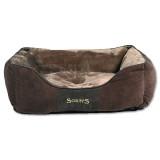 Pelíšek SCRUFFS Chester Box Bed čokoládový M 1ks