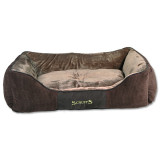 Pelíšek SCRUFFS Chester Box Bed čokoládový XL 1ks