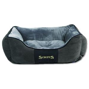 Pelíšek SCRUFFS Chester Box Bed šedý S 1ks