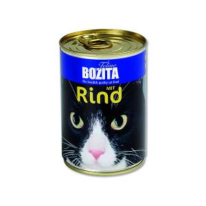 Konzerva BOZITA Cat hovězí 410g