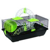 Klec SMALL ANIMALS Libor černá se zelenou výbavou 1ks
