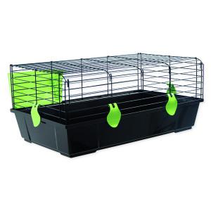 Klec SMALL ANIMALS Michal černá se zelenou výbavou 1ks