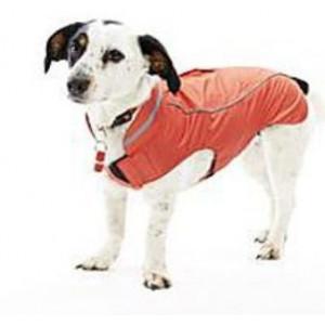 Obleček Raincoat Jahodová 60 cm XXL KRUUSE
