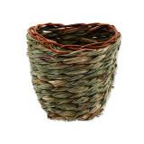 Hnízdo SMALL ANIMALS košík travní pletené 15 x 10 x 15 cm 1ks