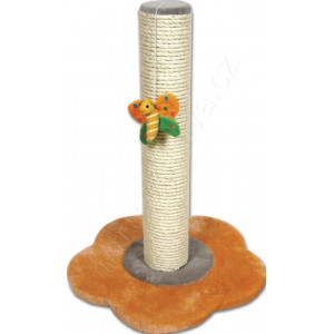 Škrábadlo Floria orange 46cm