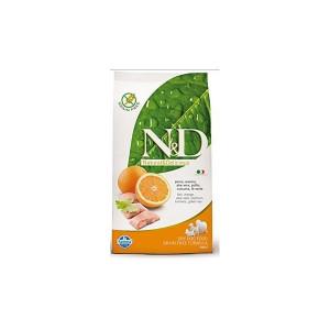 N&D Grain Free DOG Adult Mini Fish & Orange 2,5 kg