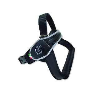 Postroj TRE PONTI reflexní od 20 do 30 kg černý 1ks