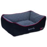 Pelíšek SCRUFFS Thermal Box Bed černý M 1ks