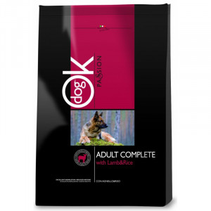 OK Dog Passion Adult Complet Lamb Rice 12,5 kg