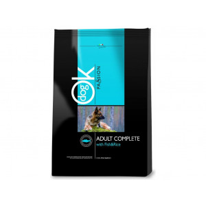 OK Dog Passion Adult Complet Fish Rice 12,5 kg