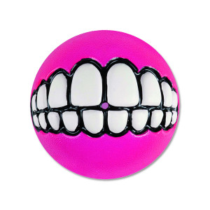 Hračka ROGZ míček Grinz růžový L 1ks