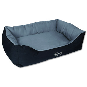 Pelíšek SCRUFFS Expedition Box Bed šedivý XL 1ks