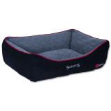 Pelíšek SCRUFFS Thermal Box Bed černý XL 1ks