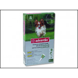 BAYER Advantix Spot-On pro psy do 4 kg 0,4ml