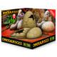 Dekorace EXO TERRA Dinosaur eggs 16 x 16 cm 1ks