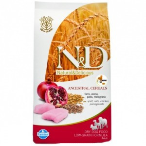 N&D Low Grain DOG Light M/L Chicken&Pomegranate 12 kg (DOPRAVA ZDARMA)
