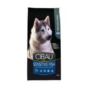 CIBAU Dog Adult Sensitive Fish&Rice 12 kg