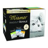 Kapsičky MIAMOR Ragout Royale kuře, tuňák, králík v želé multipack 1200g