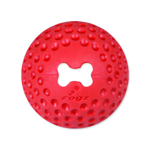 Hračka ROGZ míček Gumz červený S 1ks
