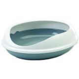 Toaleta SAVIC Figaro šedo-bílá 55 cm