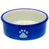 Miska MAGIC CAT keramická kočičí tlapka modrá 12,5 cm 1ks