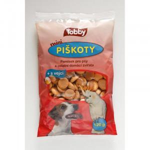 Piškoty TOBBY pro psy MINI 120 g