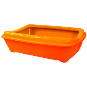 Toaleta MAGIC CAT Economy s okrajem oranžová 1ks