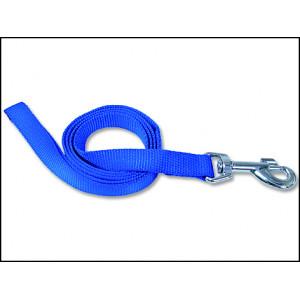 Vodítko DOG FANTASY modré 120 x 2,5 cm 1ks