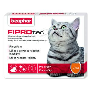 BEAPHAR Spot on Fiprotec pro kočky 1ks