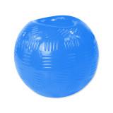 Hračka DOG FANTASY Strong míček gumový modrý 8,9 cm