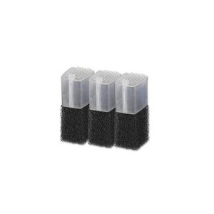 Filtr vnitřní - náhradní pěna + aktivní uhlí 3 ks