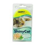Gimpet Shiny cat konz.  kuře krevety 2 x 70 g