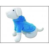Triko DOG FANTASY s kapucí modré L 1ks