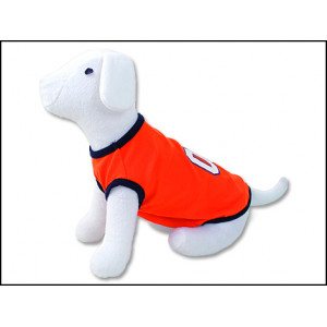 Triko DOG FANTASY Sport 01 oranžové L 1ks