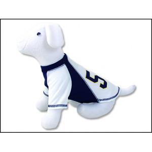 Triko DOG FANTASY Sport 57 bílo-modré S-M 1ks
