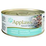 Konzerva APPLAWS Cat Tuna Fillet & Cheese